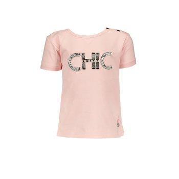 """Le Chic Le Chic """"CHIC"""" T-shirt Roze"""
