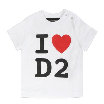 Dsquared2 Dsquared2 'I Love D2' T-shirt