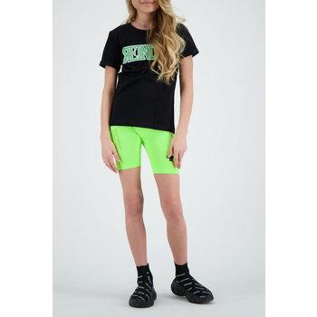 Reinders Reinders 'Reinders Logo' T-shirt Black/Neon Green