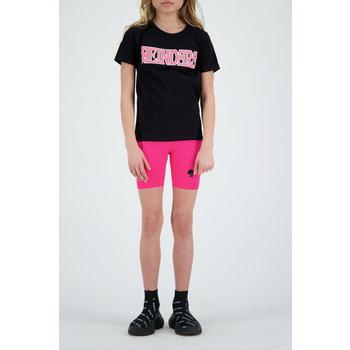 Reinders Reinders 'Reinders Logo' T-shirt Black/Neon Pink