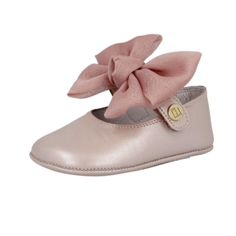 Andanines Andanines Baby Ballerina's met Strik Roze