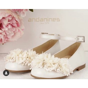 Andanines Andanines Ballerina's Flowers Creme