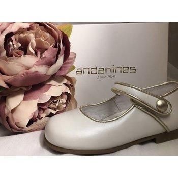 Andanines Andanines Ballerina's Wit/Goud