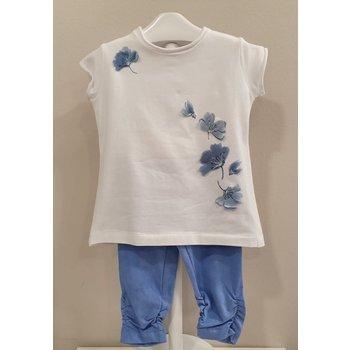 Elsy Elsy 2-delig Setje Flowers Blauw