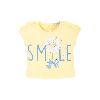 EMC EMC Shirtje Smile Geel