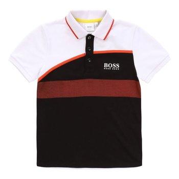 Hugo Boss Hugo Boss Polo Zwart/Oranje
