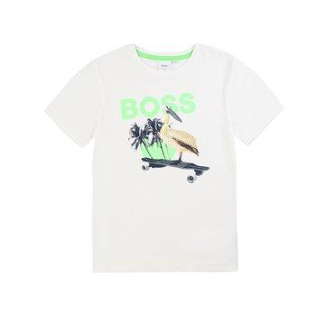 Hugo Boss Hugo Boss Pelikaan T-Shirt Wit