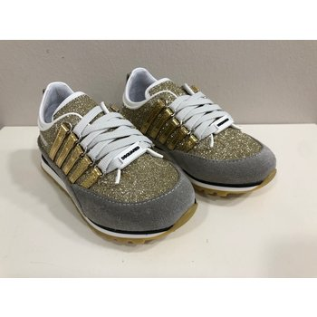 Dsquared2 Dsquared2 Glitter Sneakers Goud