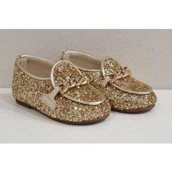 Babywalker Babywalker Glitter Schoenen Goud