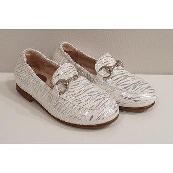 Beberlis Beberlis Loafers Wit/Zilver