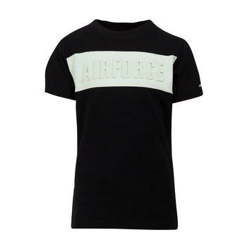 """Airforce Airforce ''Airforce"""" 3D T-shirt Zwart/Mint"""