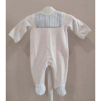 Pureté Purete Babypakje Wit met Licht Blauw