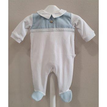 Pureté Pureté Babypakje Wit/Licht Blauw