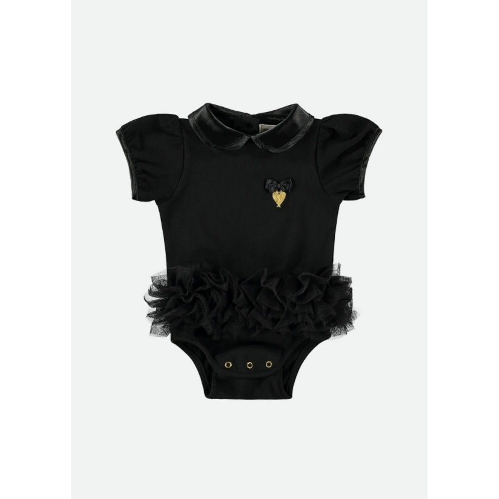 Angel's Face Angel's Face Tutu Romper Black