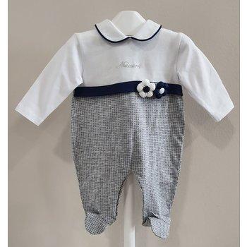 Ninnaoh Ninnaoh Babypakje met Mutsje Grijs/Blauw