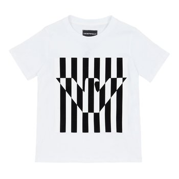 Armani Armani Shirt Wit/Zwart
