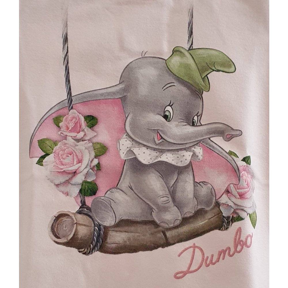 Monnalisa Monnalisa Dumbo met Schommel t-shirt Roze