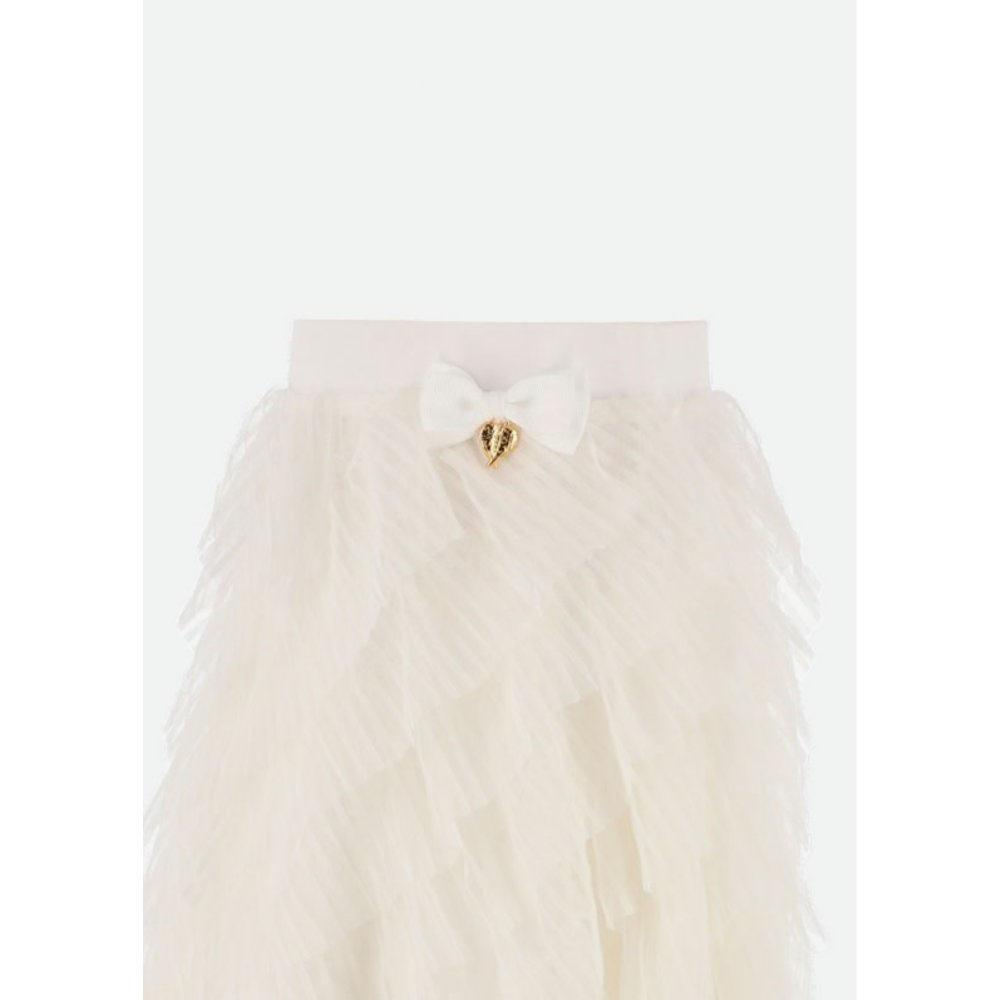 Angel's Face Angel's Face Tulle Ruffle Rok Offwhite