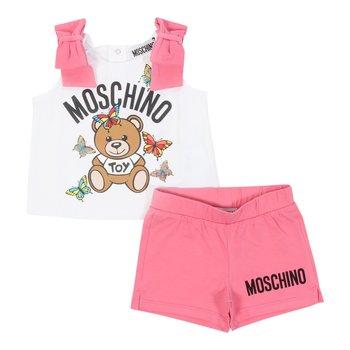 Moschino Moschino 2-delig Setje Fushia/Wit