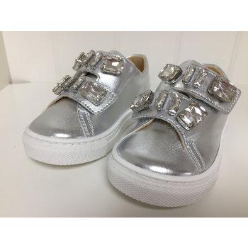 Miss Blumarine Blumarine Sneakers met Strass Zilver