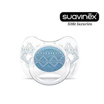 Suavinex Suavinex Speen 0-4m, Couture Blauw