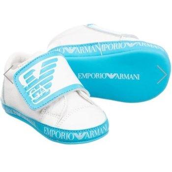 Armani Armani Baby Sneakers Aqua