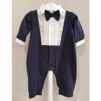 Aletta Aletta Babypakje met Strikje Donkerblauw