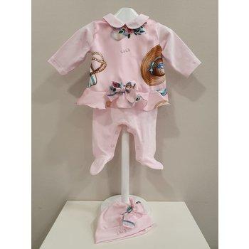 Lolo Lolo Babypakje met Mutsje Roze