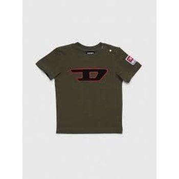 Diesel Diesel T-shirt Groen