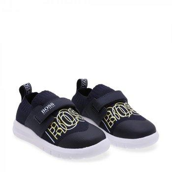 Hugo Boss Boss Sneakers Blauw/Geel