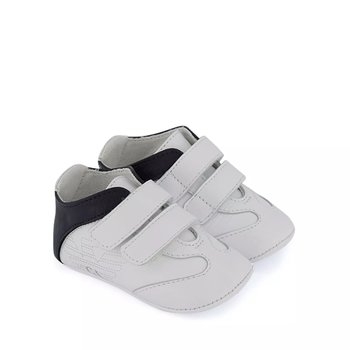 Armani Armani Baby Sneakers Wit/Blauw, mt 19