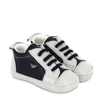 Armani Armani Baby Sneakers Blauw/Grijs