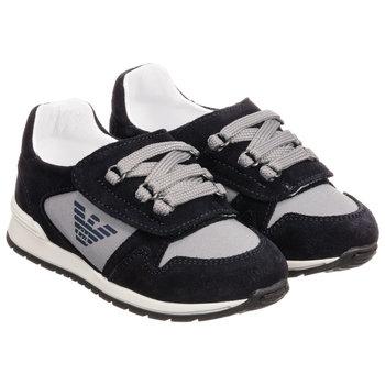 Armani Armani Sneakers Blauw/Grijs