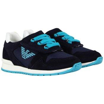 Armani Armani Sneakers Donkerblauw/Aqua