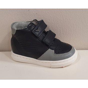 Armani Armani Hoge Sneakers Donkerblauw