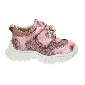 Monnalisa Monnalisa Sneakers met Strass Roze