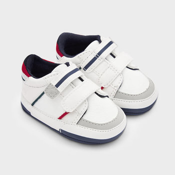 Mayoral Mayoral Babysneakers Wit/Rood/Blauw