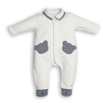 First First Babypakje met Blauwe Berenzakjes