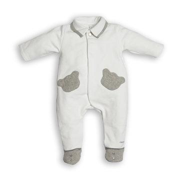 First First Babypakje met Grijze Berenzakjes