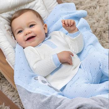 Mayoral Mayoral 2-delig Babypakje Offwhite/Blauw
