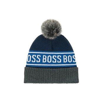 Hugo Boss Hugo Boss Muts Donkerblauw/Grijs