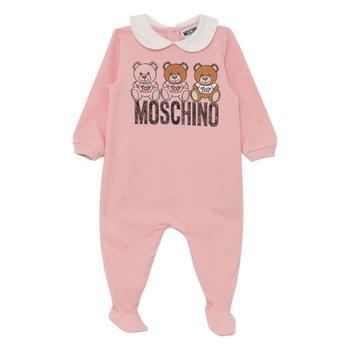 Moschino Moschino Babypakje met Beertjes Roze