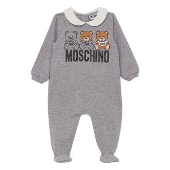 Moschino Moschino Babypakje met Beertjes Grijs