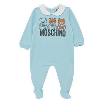 Moschino Moschino Babypakje met Beertjes Blauw