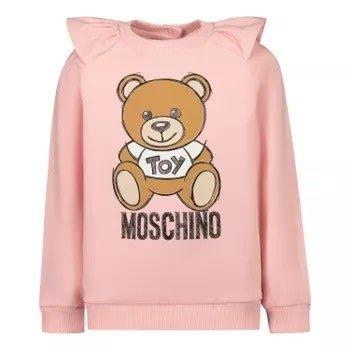 Moschino Moschino Sweater met Beer Roze