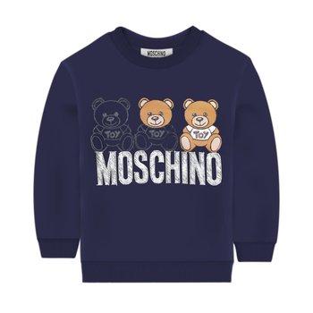 Moschino Moschino Sweater met Beertjes Donkerblauw