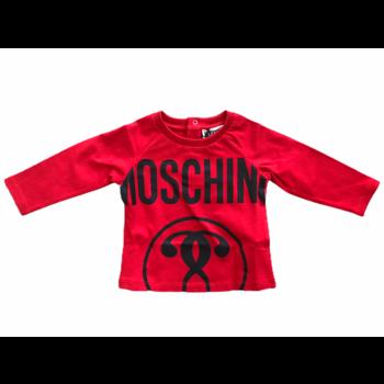 Moschino Moschino Longsleeve Rood/Zwart