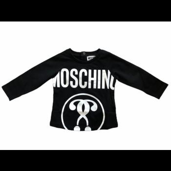 Moschino Moschino Longsleeve Zwart/Wit