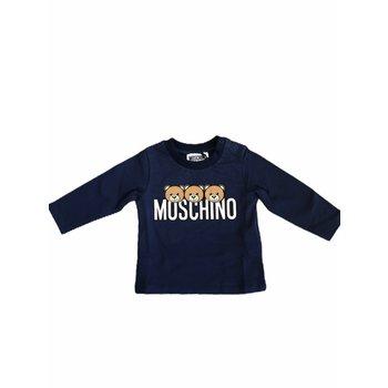 Moschino Moschino Longsleeve met Beertjes Donkerblauw