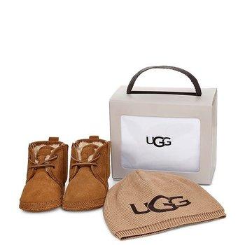 UGG UGG Babyschoentjes met Mutsje Bruin